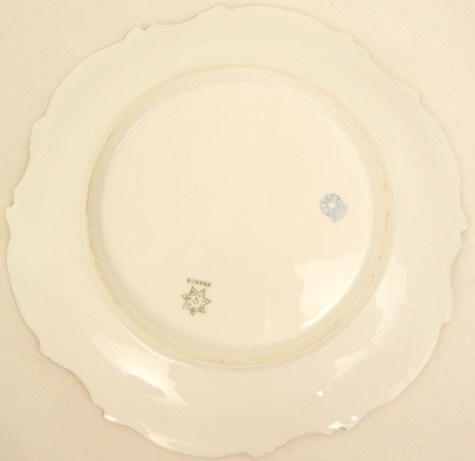 176: L.S.& S. (Lewis Straus and Sons) Limoges ten piece - 10