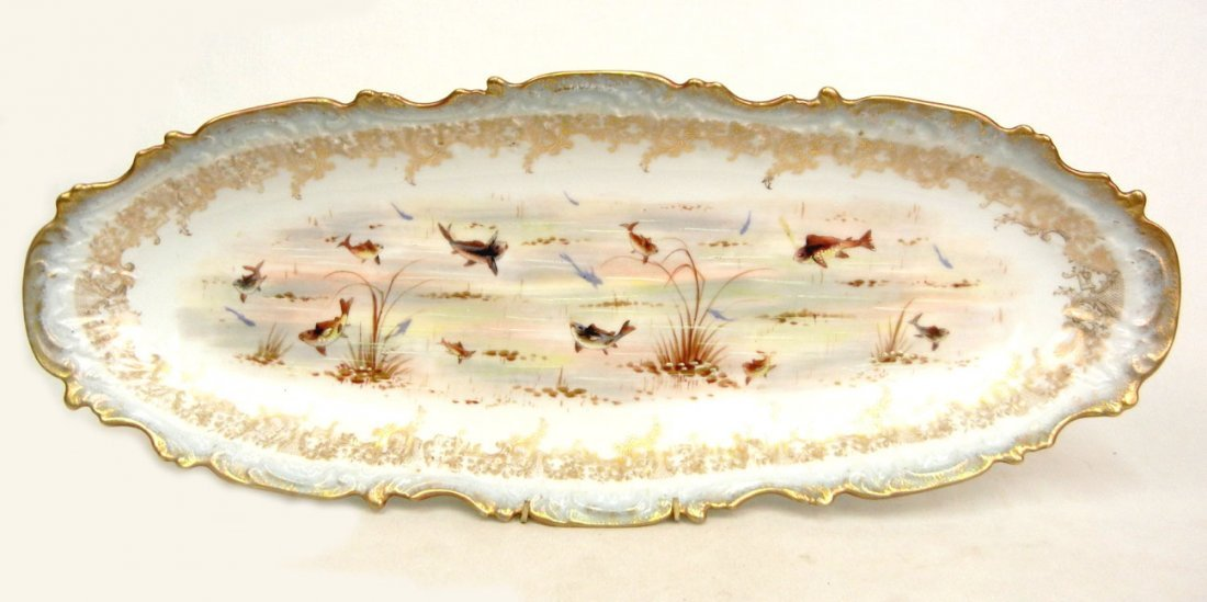 176: L.S.& S. (Lewis Straus and Sons) Limoges ten piece - 2