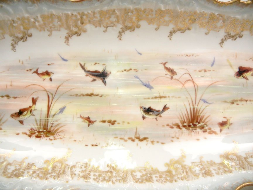 176: L.S.& S. (Lewis Straus and Sons) Limoges ten piece - 3