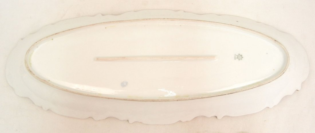 176: L.S.& S. (Lewis Straus and Sons) Limoges ten piece - 4