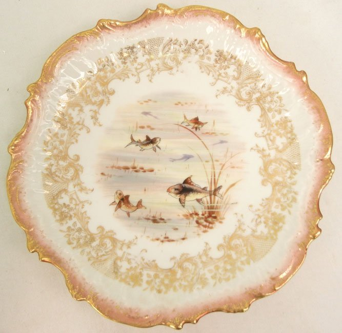 176: L.S.& S. (Lewis Straus and Sons) Limoges ten piece - 8