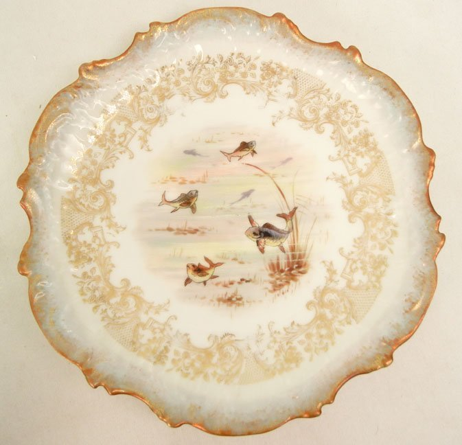 176: L.S.& S. (Lewis Straus and Sons) Limoges ten piece - 9
