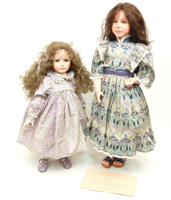8: Two limited edition artist dolls, one by Stephen and