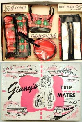Mint In Box 1954 Ginny's Trip Mates By Vogue, Inclu