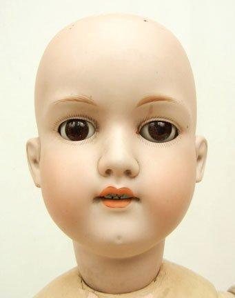 18A: Armand Marseille bisque head doll, composition bod