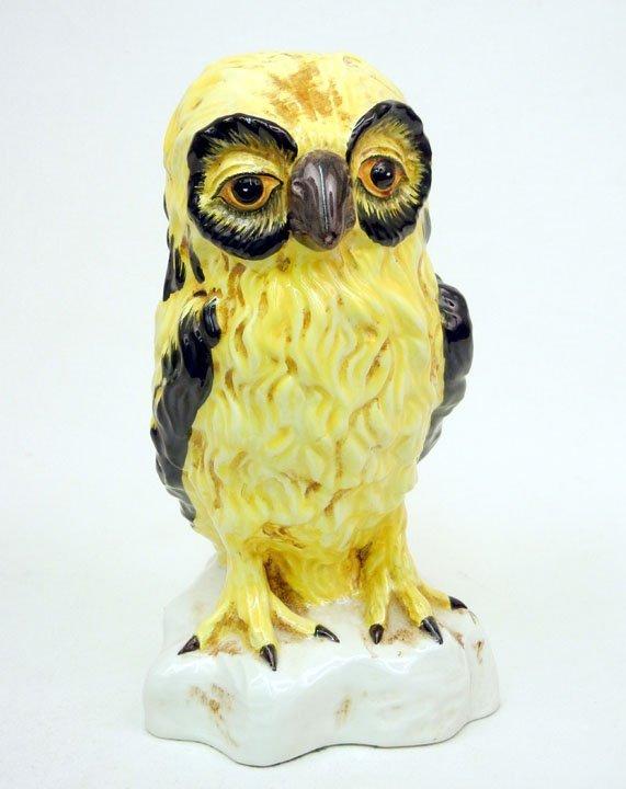 "42: Meiselman Italian pottery owl, marked on bottom ""Me"