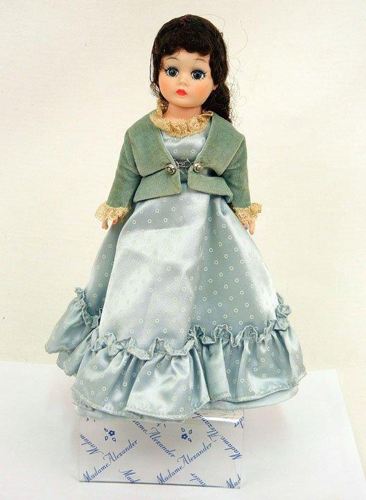 2: Madame Alexander Cissette portrait doll, tagged blue