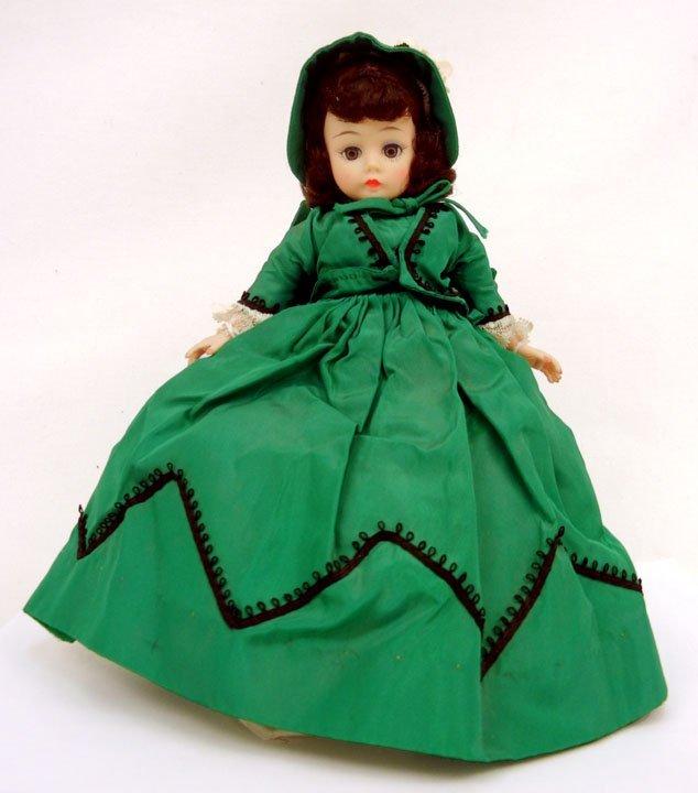 "3: Madame Alexander ""Scarlett"" Cissette portrait doll,"
