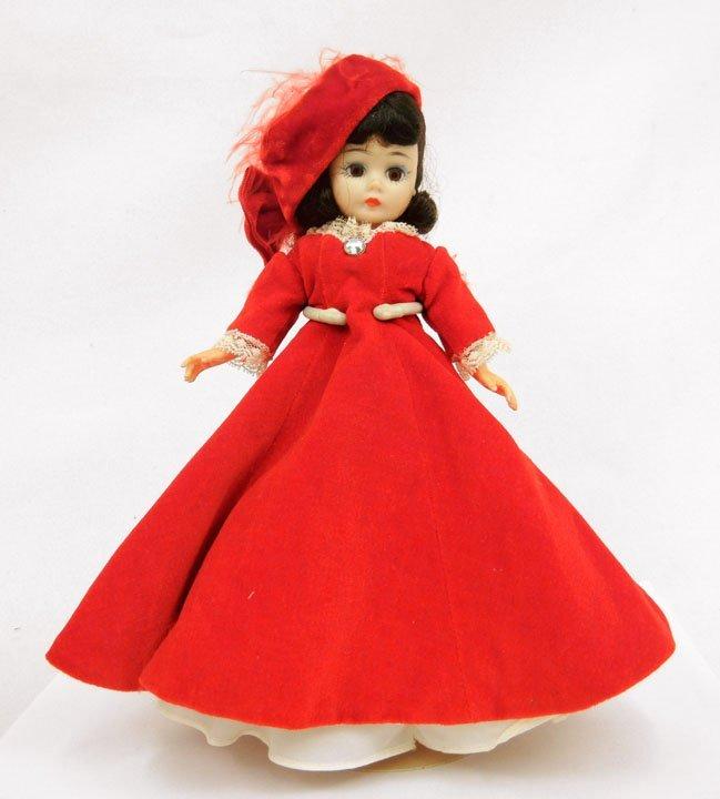 4: Madame Alexander Cissette portrait doll, tagged red