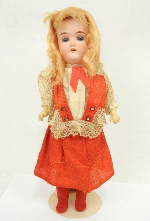 5: Gebruder Heubach bisque head composition body doll,