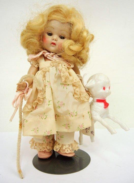 """6: Original Vogue strung Ginny, """"Bo Peep"""", all original"""