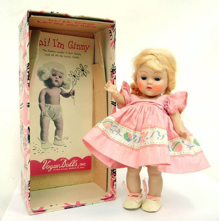 "9: Vogue strung Ginny ""Dawn"", with original box and tag"