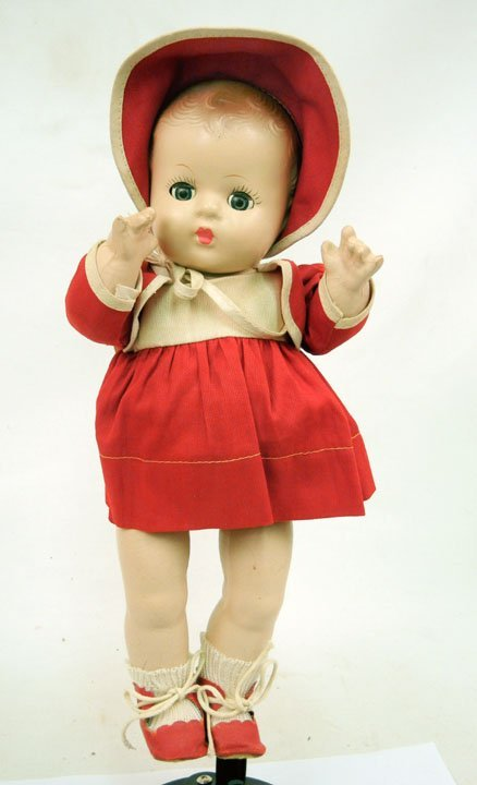 14: Eugenia composition toddler girl, all original, blu