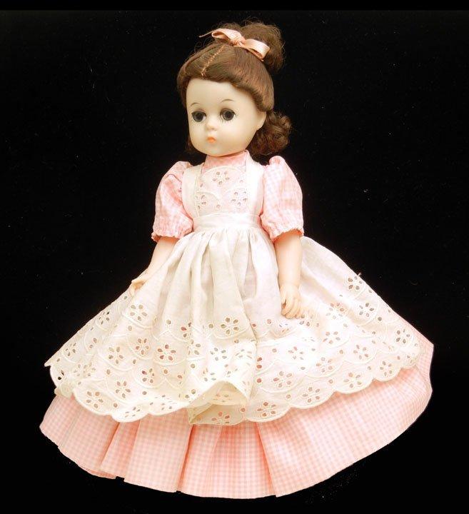 """16: Madame Alexander Little Woman """"Beth"""", green sleep e"""