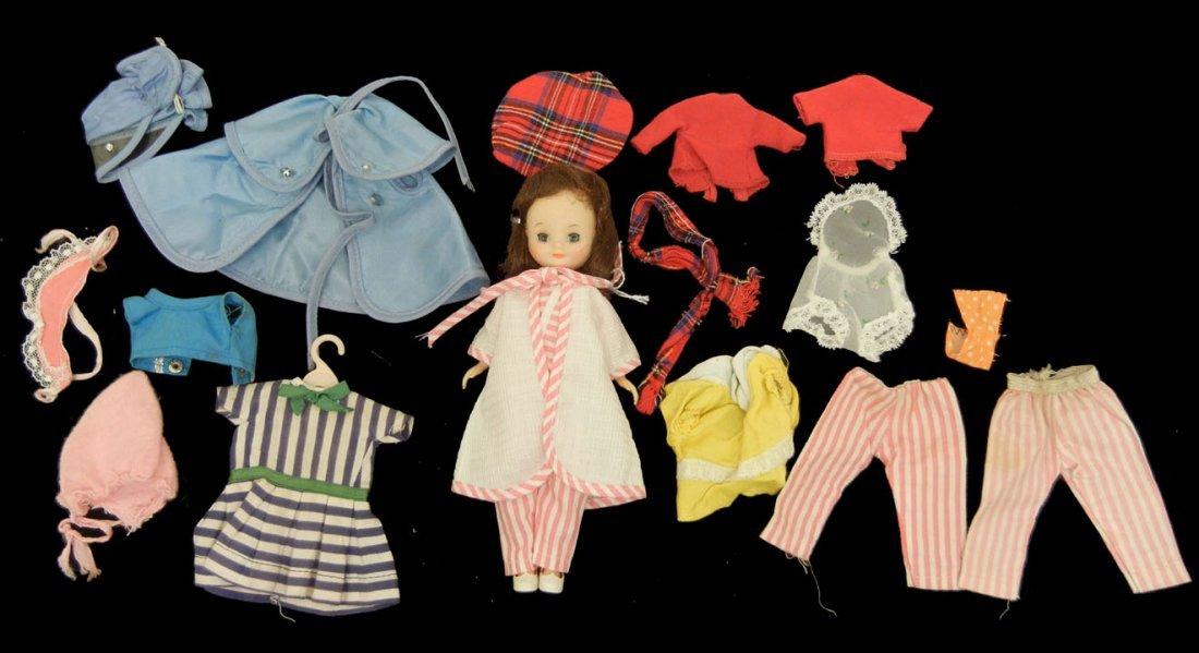 21: Betsy McCall hard plastic doll, green sleep eyes, p