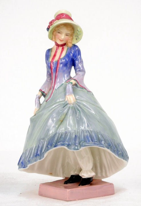 "3: Royal Doulton figurine ""Pantalettes"" HN 1362, marked"