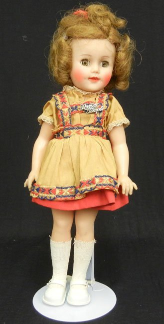 """Ideal Shirley Temple, 15"""", vinyl and hard plastic, all"""