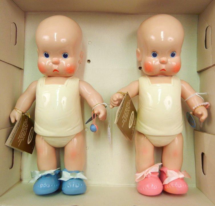 Horsman HEbee-SHEbee 1987 limited edition dolls in orig