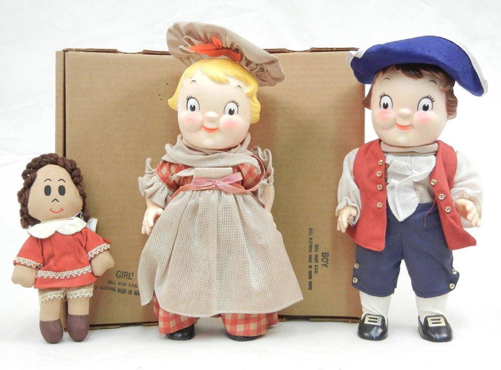 "Campbell's Soup Centennial dolls, 10"", in original boxe"