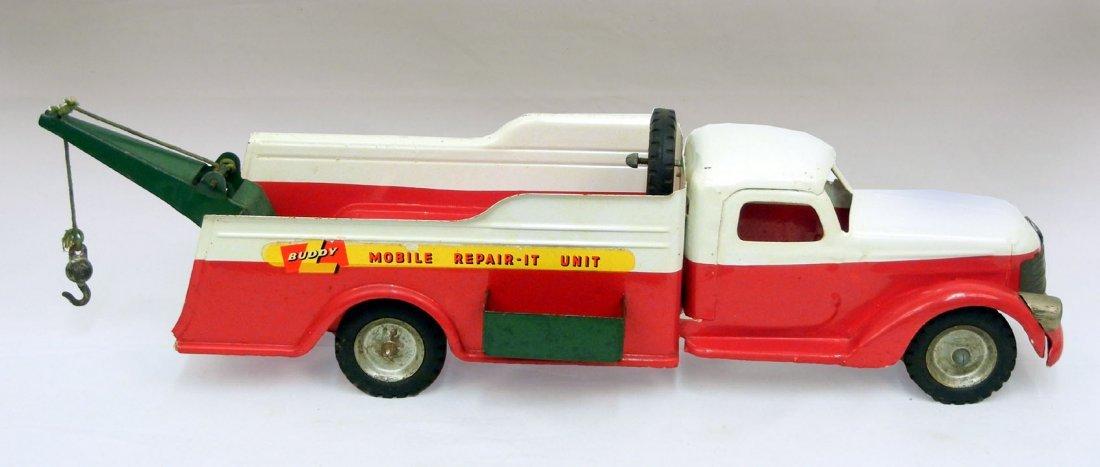 Buddy L Mobile Repair-it unit pressed steel truck, miss