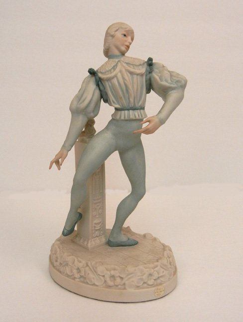 "Cybis #246 Prince Florimund, marked on back, 11"" high"
