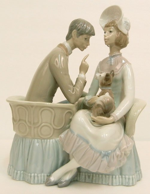 "Lladro You and Me No. 4830, marked on bottom, 10 1/2"" h"