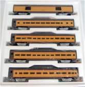 MTH Union Pacific 70' Scale Aluminum car Passenger Set,