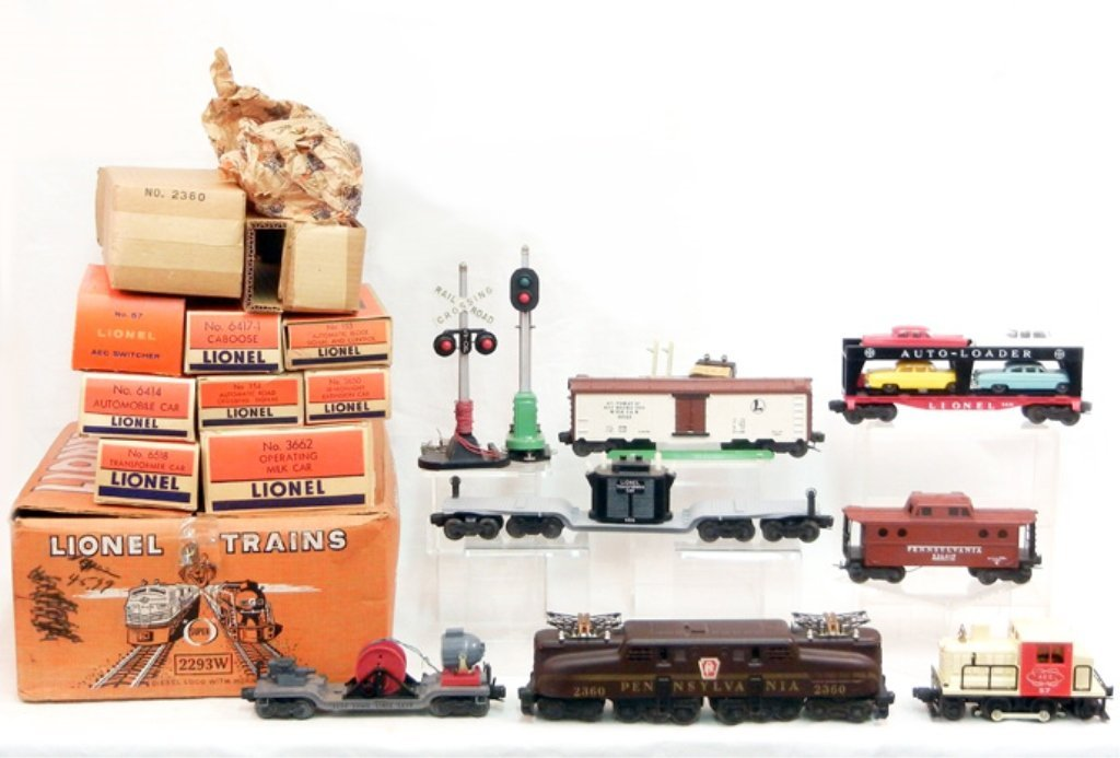 Lionel Freight Set No. 2293W mint in original box,