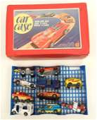 Grouping of Hot wheels cars, including two red line