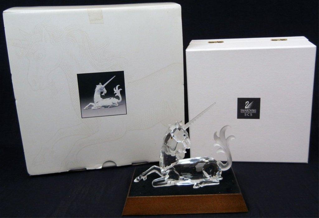 Swarovski crystal figurine Fabulous Creatures- The Unic