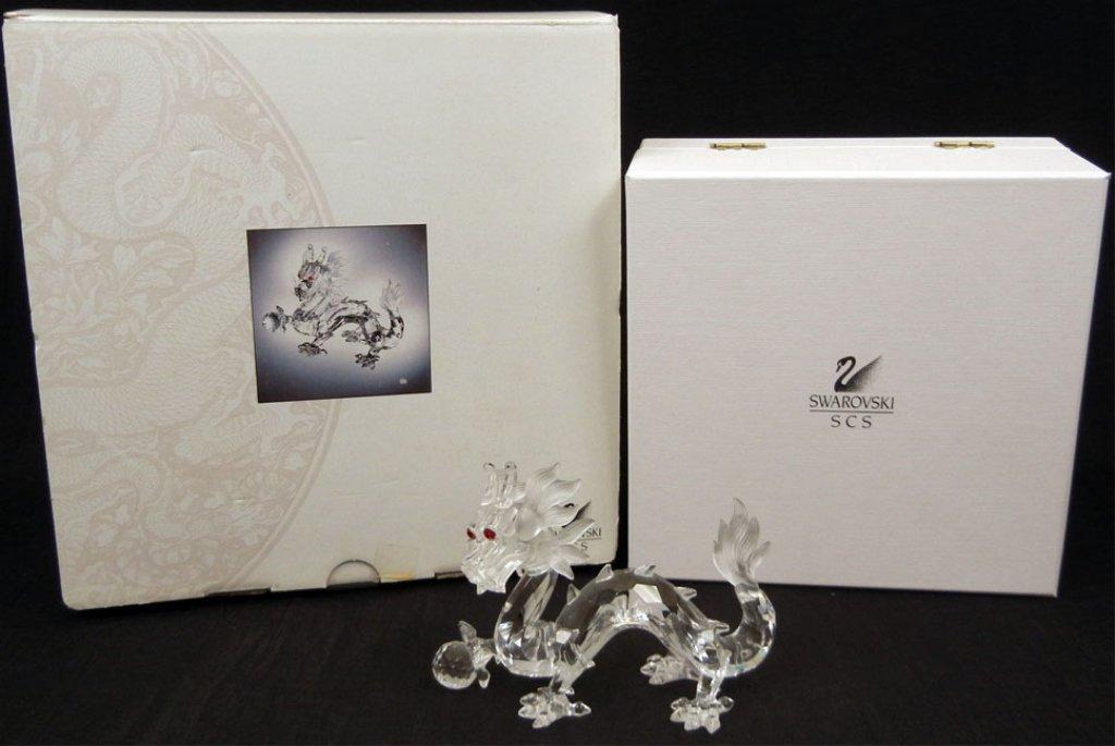 Swarovski crystal figurine Fabulous Creatures- The Drag