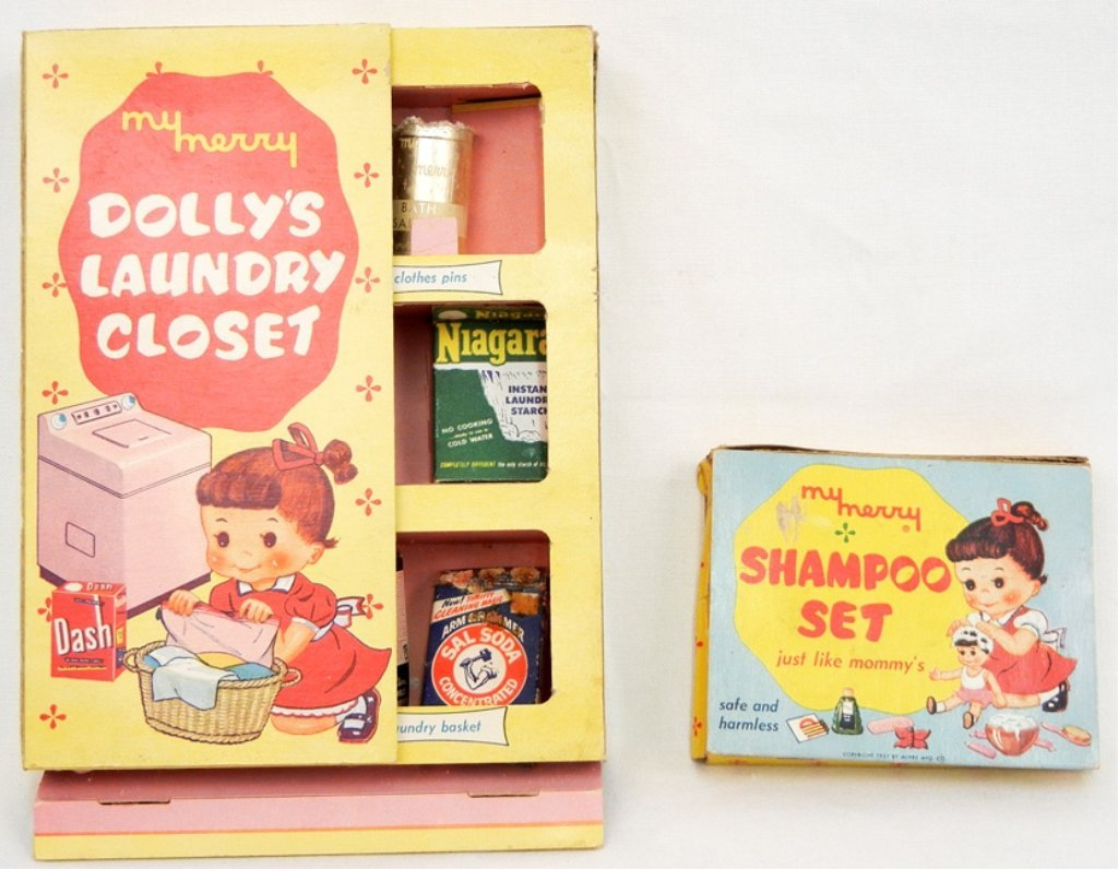 My Merry Shampoo Set No. 22:39 and a My Merry Dolly's