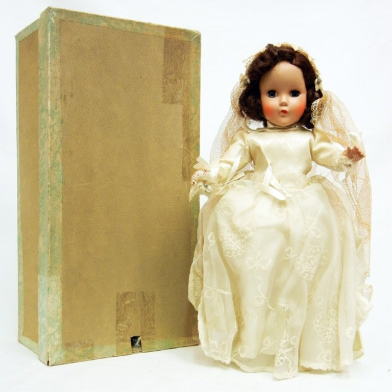 "Arranbee (R&B) ""Nanette"" 1950s hard plastic doll"