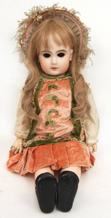 French bisque Jumeau Bebe doll