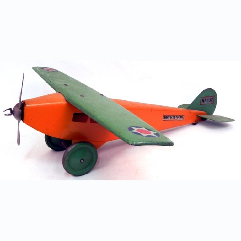 Steelcraft Army Scout plane NX 107
