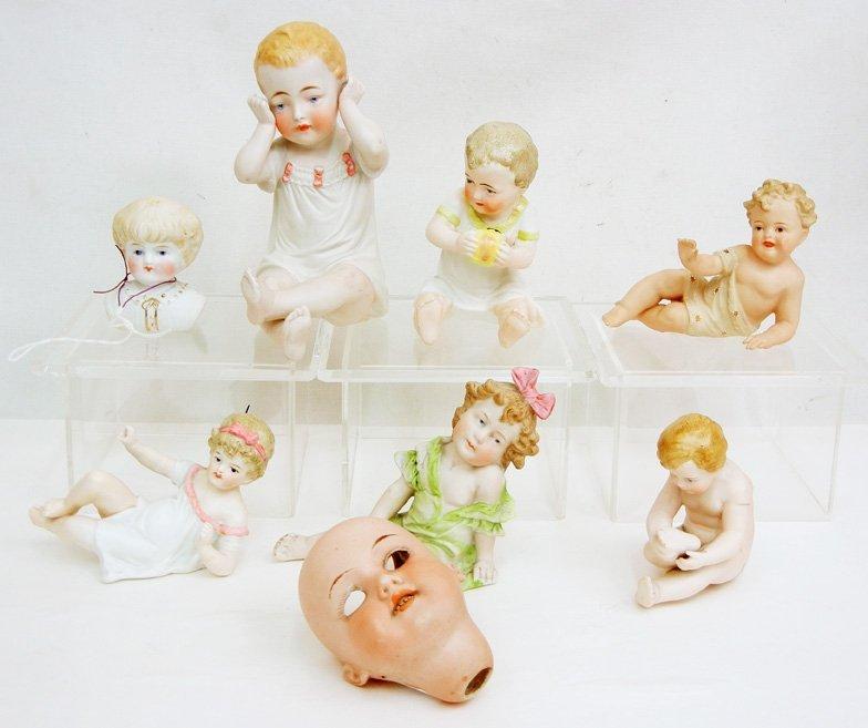 Grouping of German piano babies,