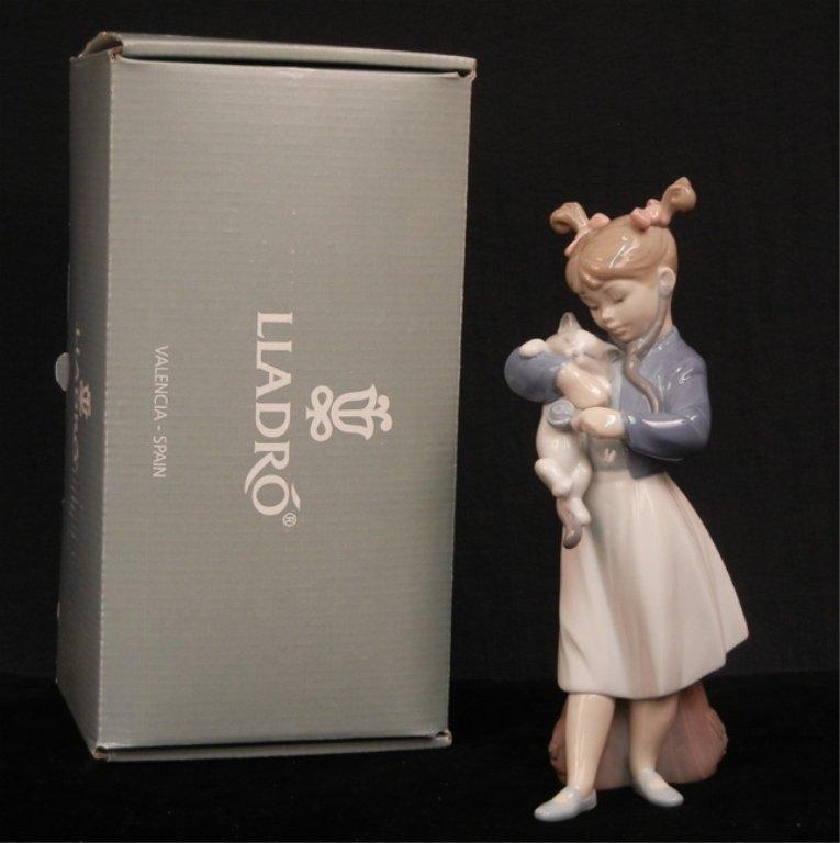 "Lladro ""You'll Feel Better!"" figurine"