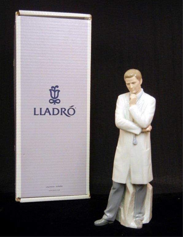 "Lladro ""Male Doctor"" figurine"