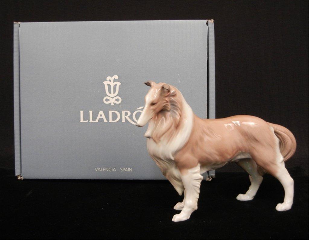 """Lladro """"Shetland Sheepdog"""" figurine"""