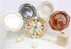 Grouping of 18th and early 19th C. English pottery