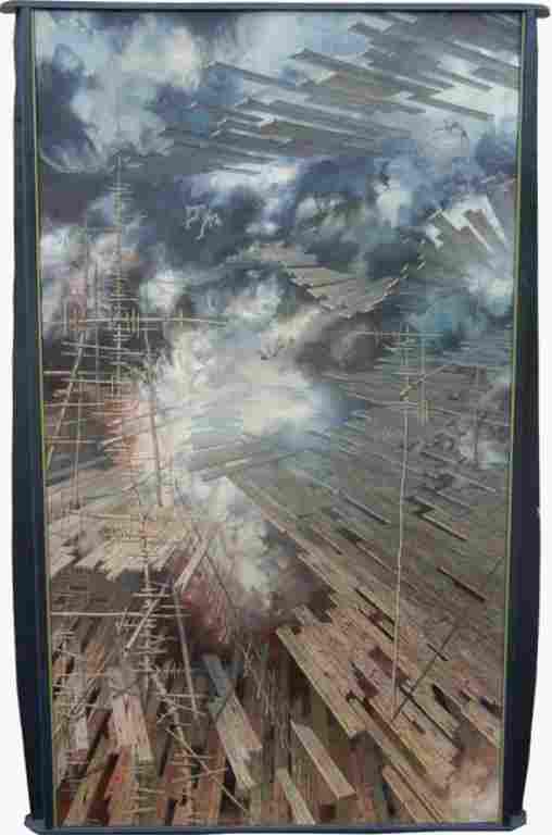 Paul Gorka, oil on canvas