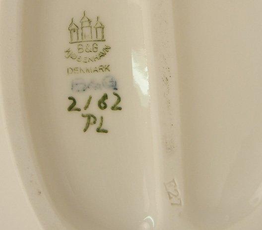 Three porcelain figurines, B&G and Royal Copenhagen - 3