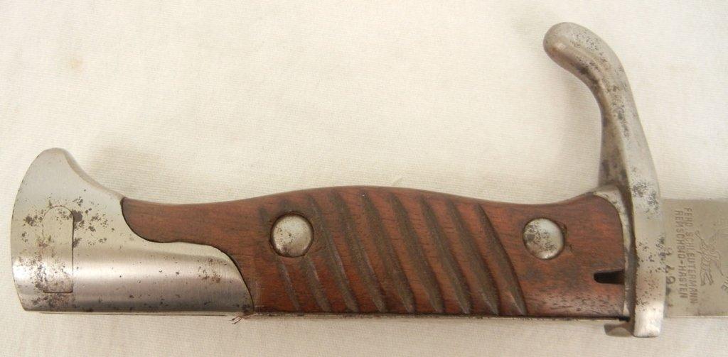 German WWI Stahlblume bayonet - 3