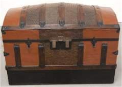 Restored hump back trunk