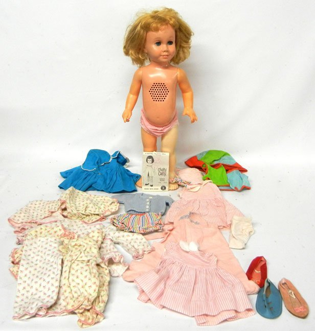 1960's Chatty Cathy doll and clothes