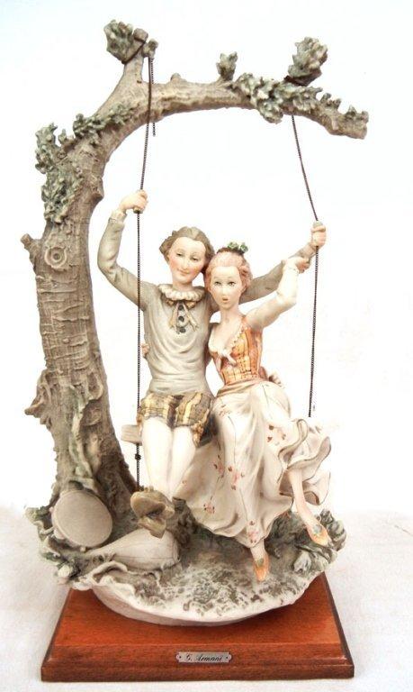 "Giuseppe Armani ""Lovers on a Swing"""