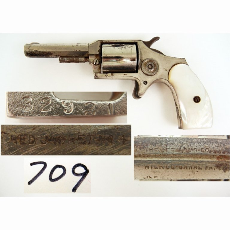 Lee Arms Co. Red Jacket #4 revolver