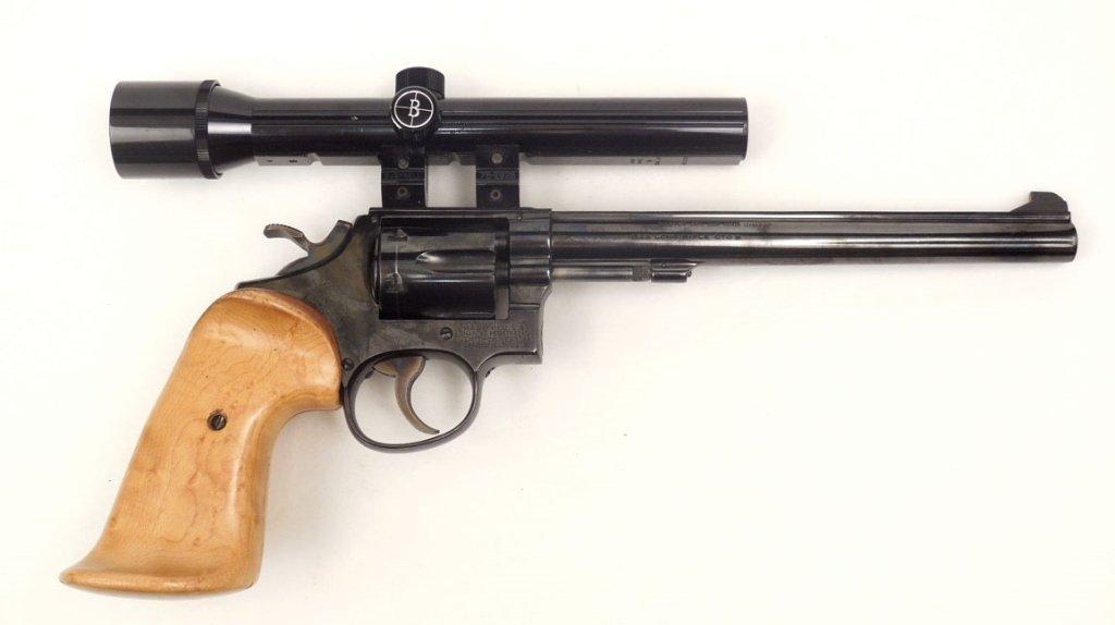 Smith & Wesson .22LR revolver