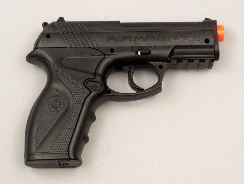 Air Mag C11 cal. 6mm BB CO2 pistol with case - 2