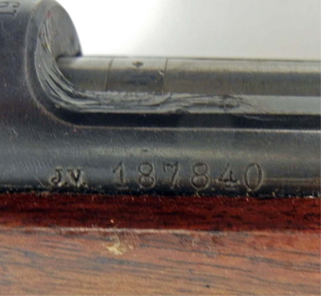 Gevarsfaktori Swedish military 6.5 x 55mm rifle - 8